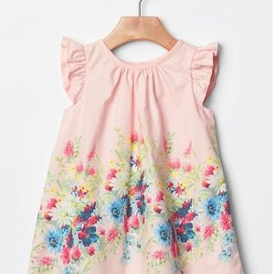 Baby Gap New With Tag Easter Floral Dress 18-24